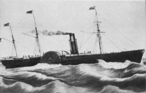 SS Pacific Ocean Liner 1849-1856