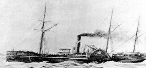 SS Pacific Ocean Liner 1851