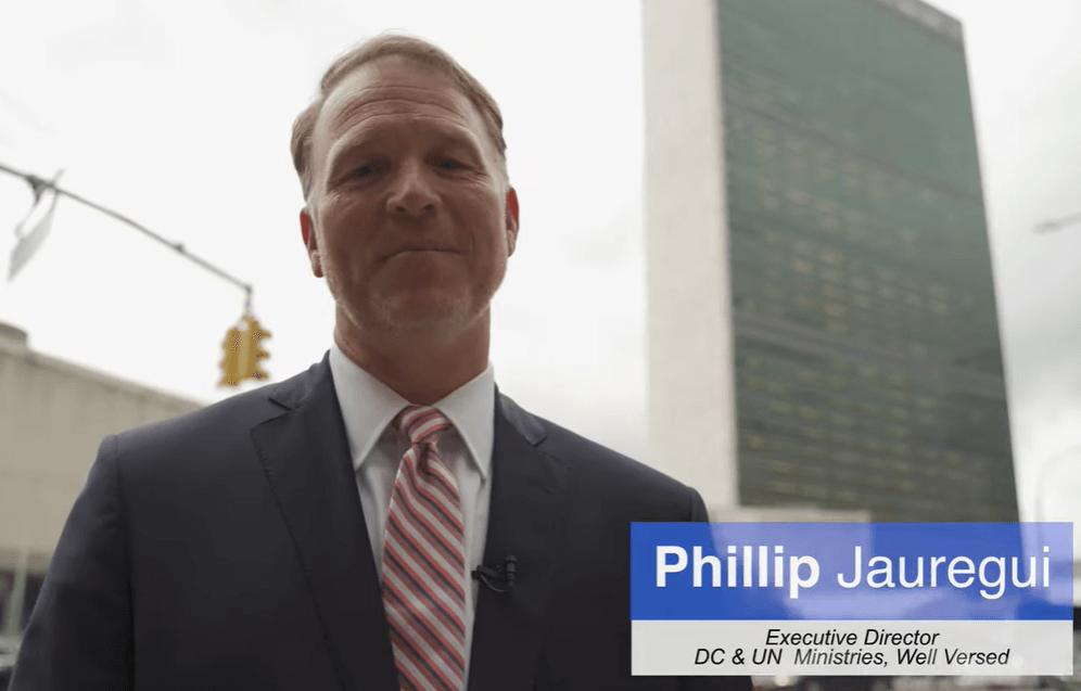 Phillip Jauregui UN Well Versed