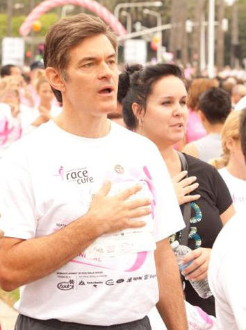 Dr. Oz and Renee Martine