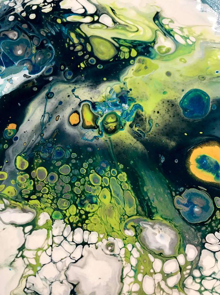 Renee Martine—Artist | acrylic abstract artist, Rocklin CA