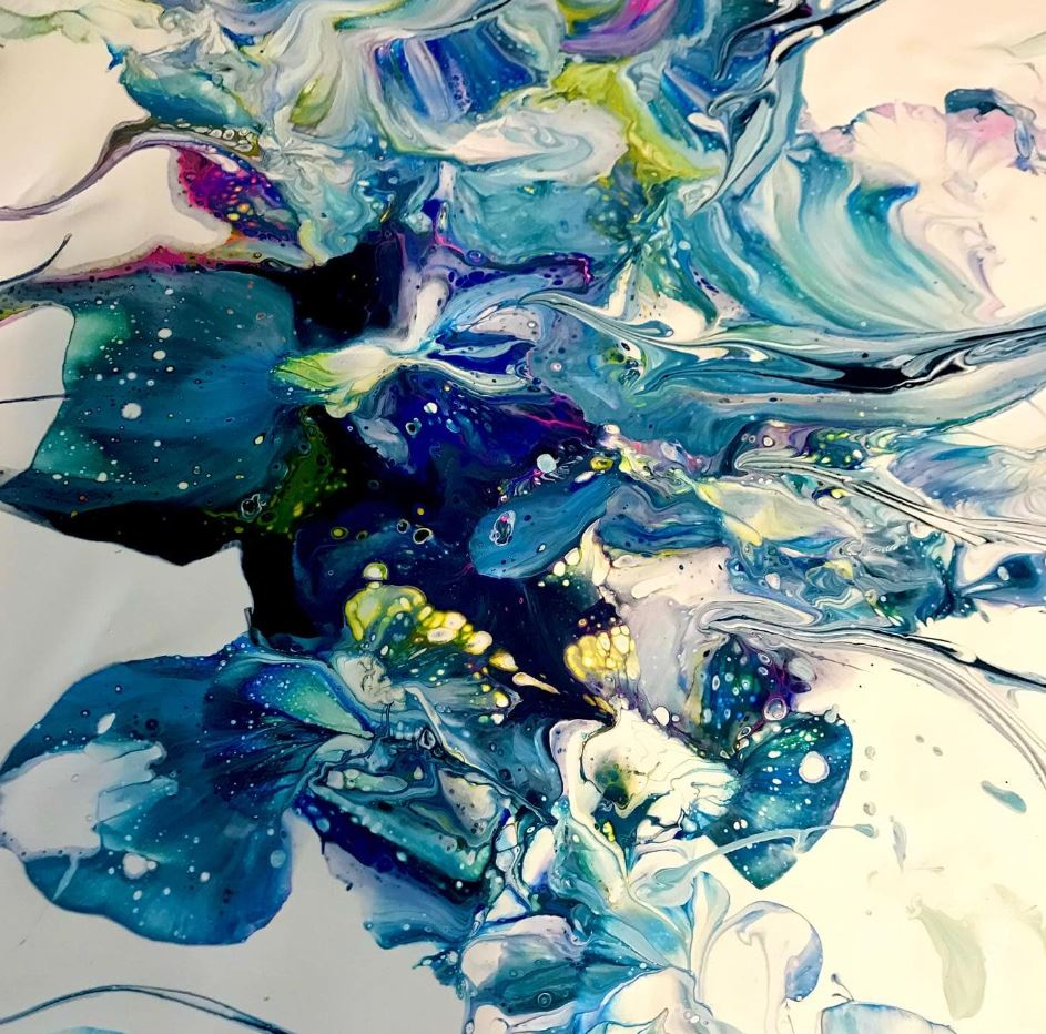 Renee Martine—Artist | acrylic abstract Rocklin CA
