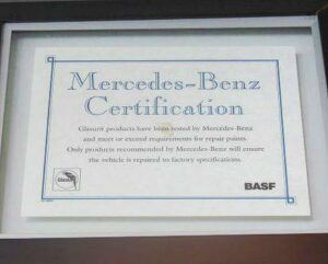 Carolina Coast Collision Center is Mercedes Benz certified in Wilmington NC.