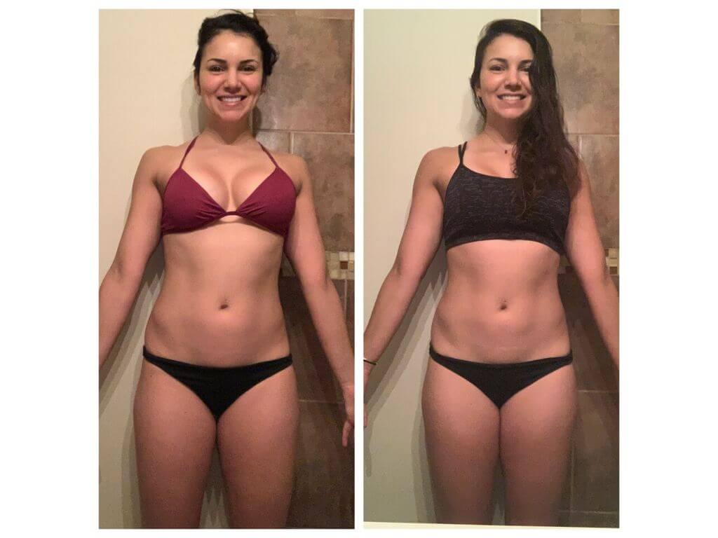 woman transformation before and after