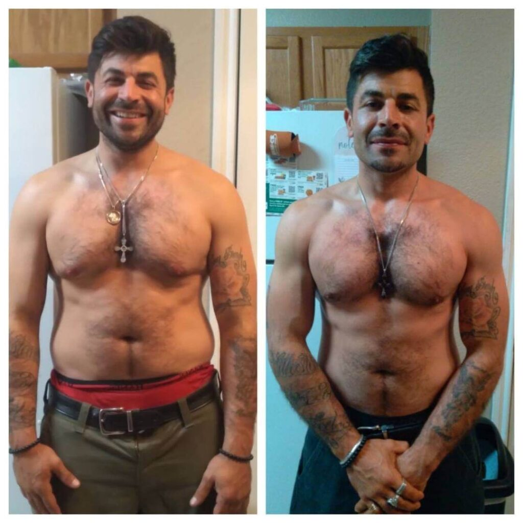 Male Fitness Transformation
