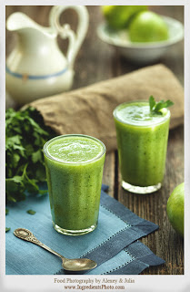 Lush Green Vitality Smoothie