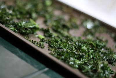 make your own kale chips
