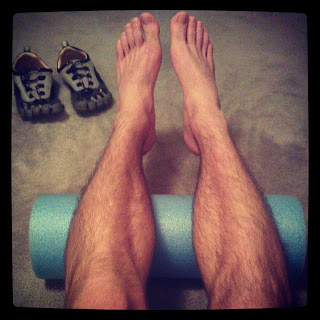 runner and foam rollers