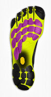 Vibram Bikila EVO sole materials