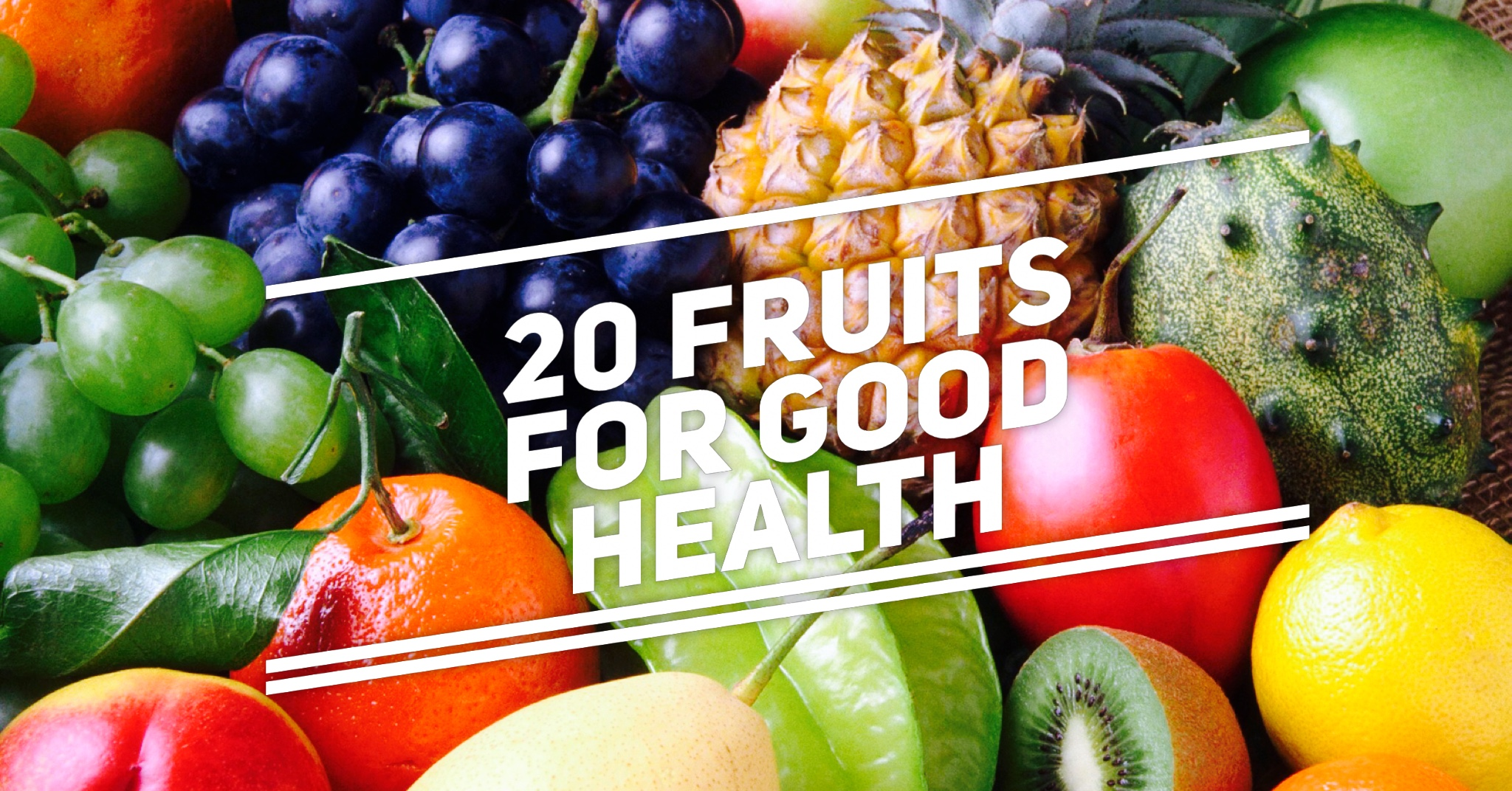 20 Fruits for Good Health Cover