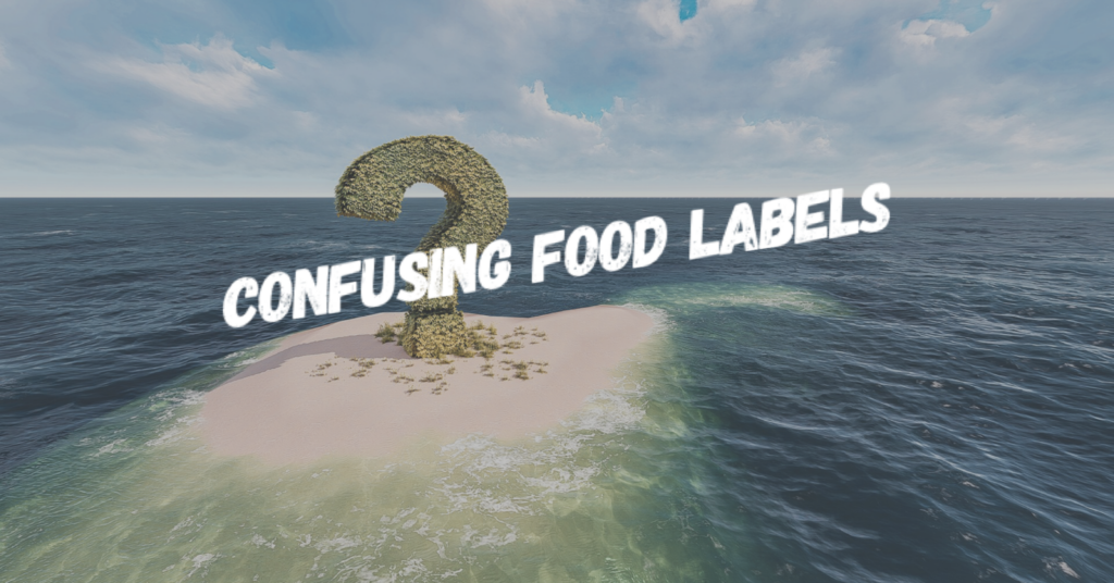 Confusing food labels