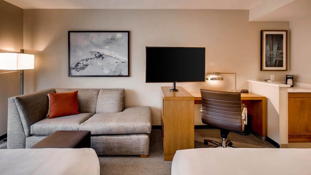 Hyatt Place Keystone | Double Bed Cozy Corner