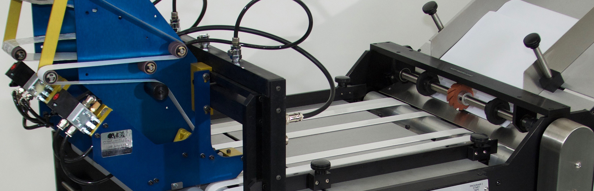 Label and Tape Application Machine