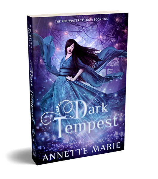 Dark Tempest asian mythology fantasy by Annette Marie
