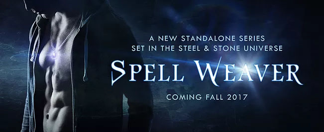 Spell Weaver announcement by Annette Marie