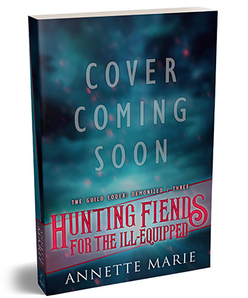 Cover Coming Soon: Hunting Fiends for the Ill-Equipped