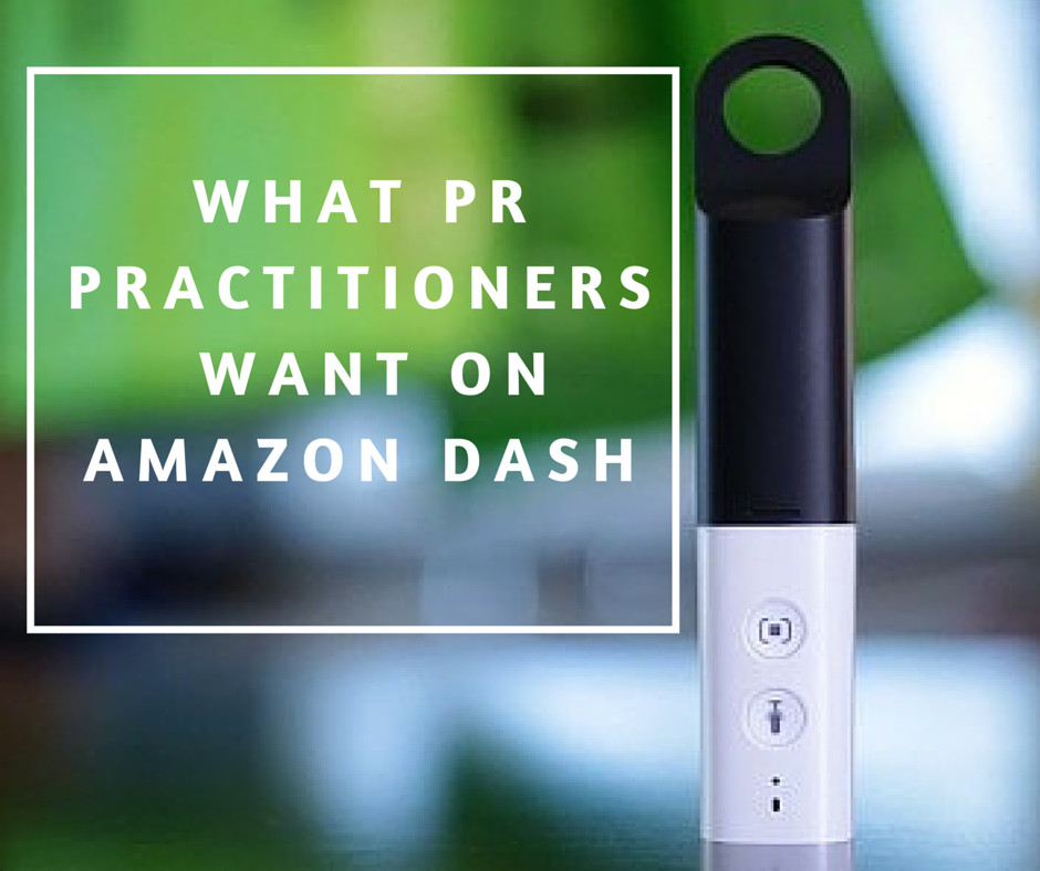 What PR Practitioners Want on Amazon