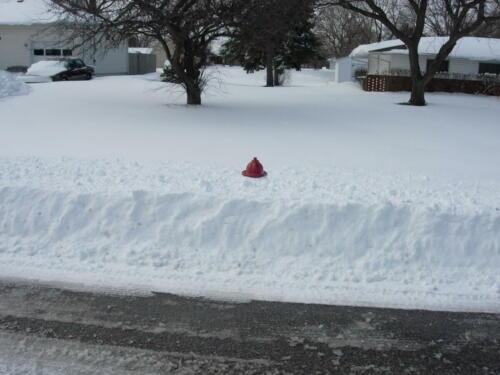 snow-hydrant