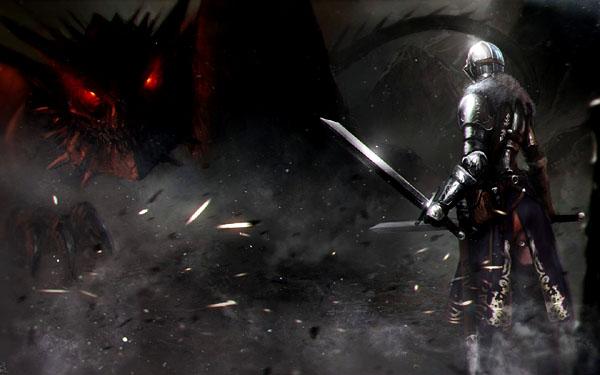 knight-vs-dragon