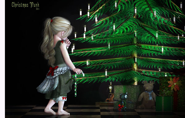christmas_punk_by_dani3d-d4g51pt on Deviant Art