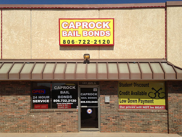 Caprock Bail Bonds in Lubbock, Texas