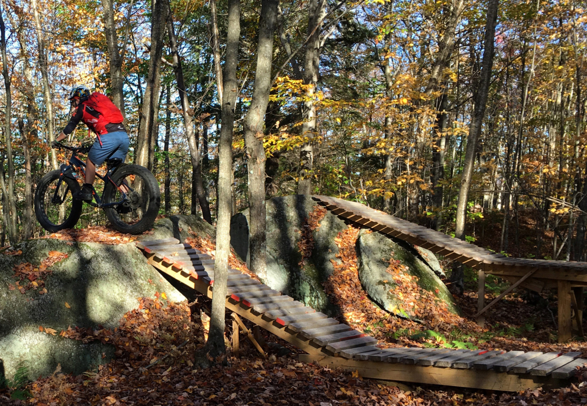 Mountain Biking at top-ranked Millstone Trails of Barre, VT.