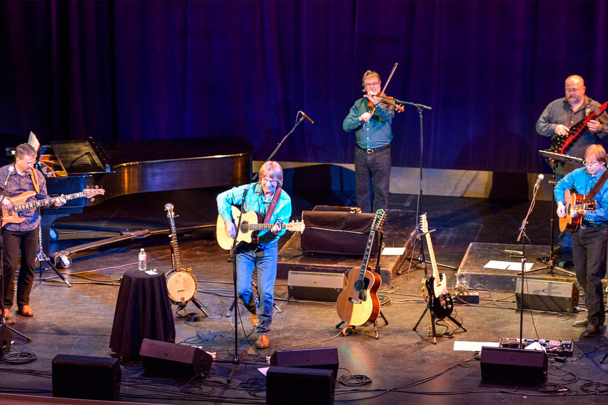 Boulder Canyon Band performs at the historic Barre Opera House