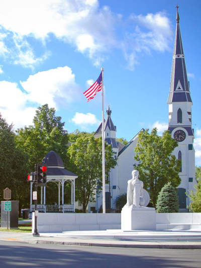 City Park in Downtown Barre VT