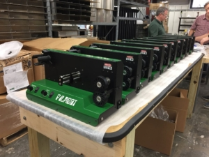 Filabot filament extrusion production for 3D printers is in Barre, VT