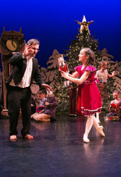 The Nutcracker Ballet performed at the historic Barre Opera House
