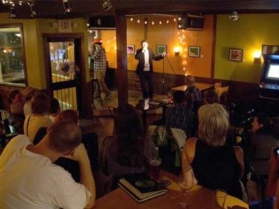 Comedy night at Espresso Bueno in Barre, VT