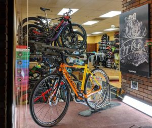Vermont Bicycle Shop on Main St. in Barre.
