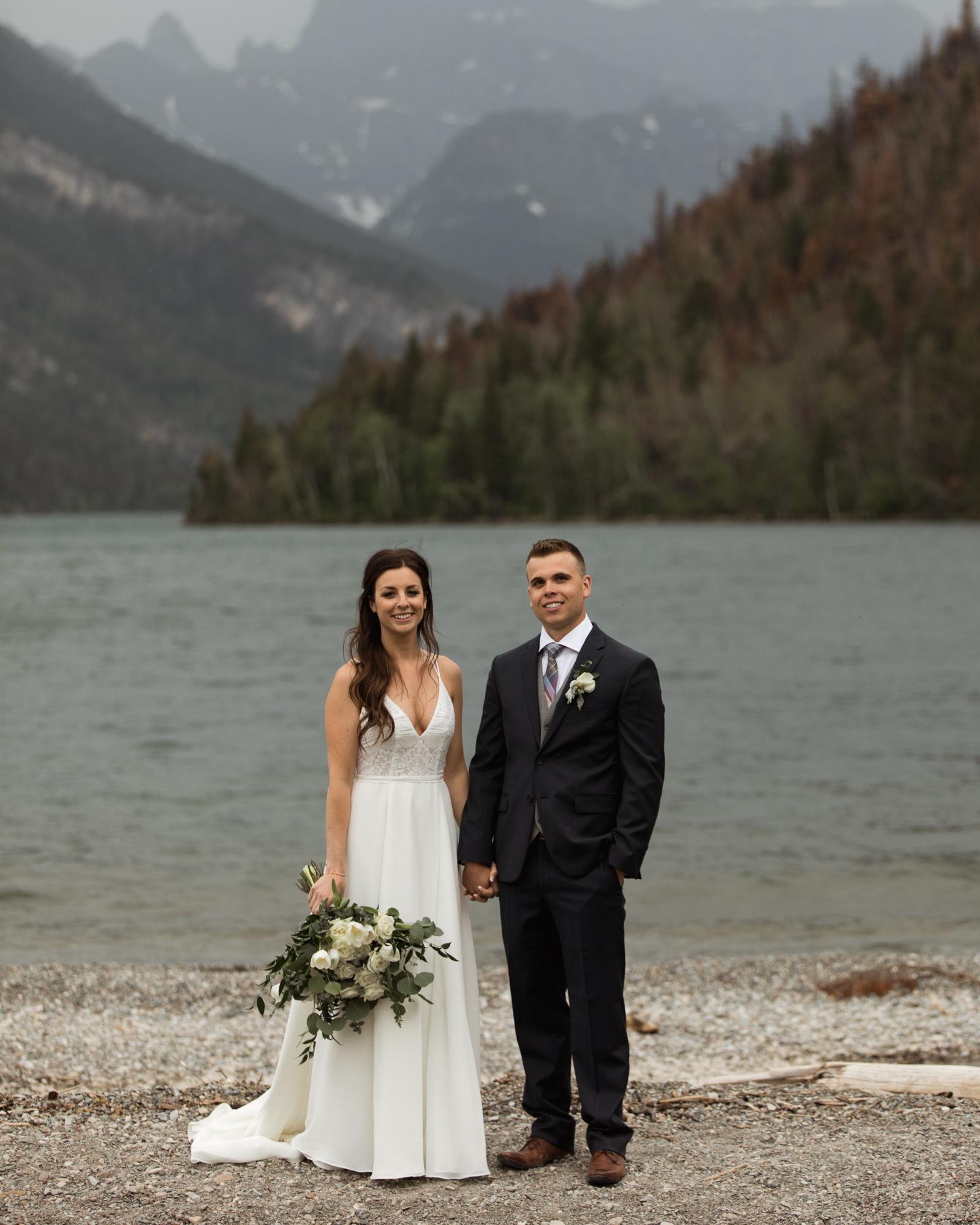 Waterton wedding photographer portraits