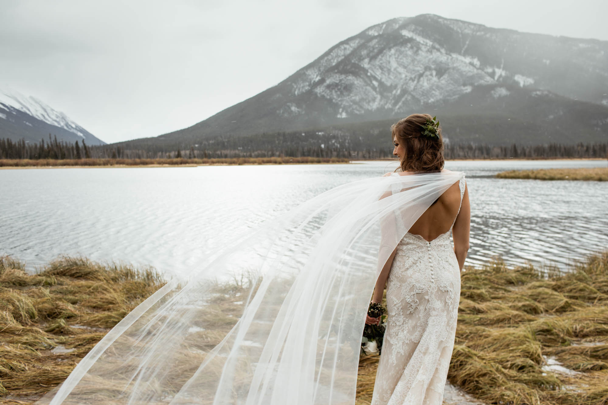 Lake Louise Wedding Willow and Wolf Photography