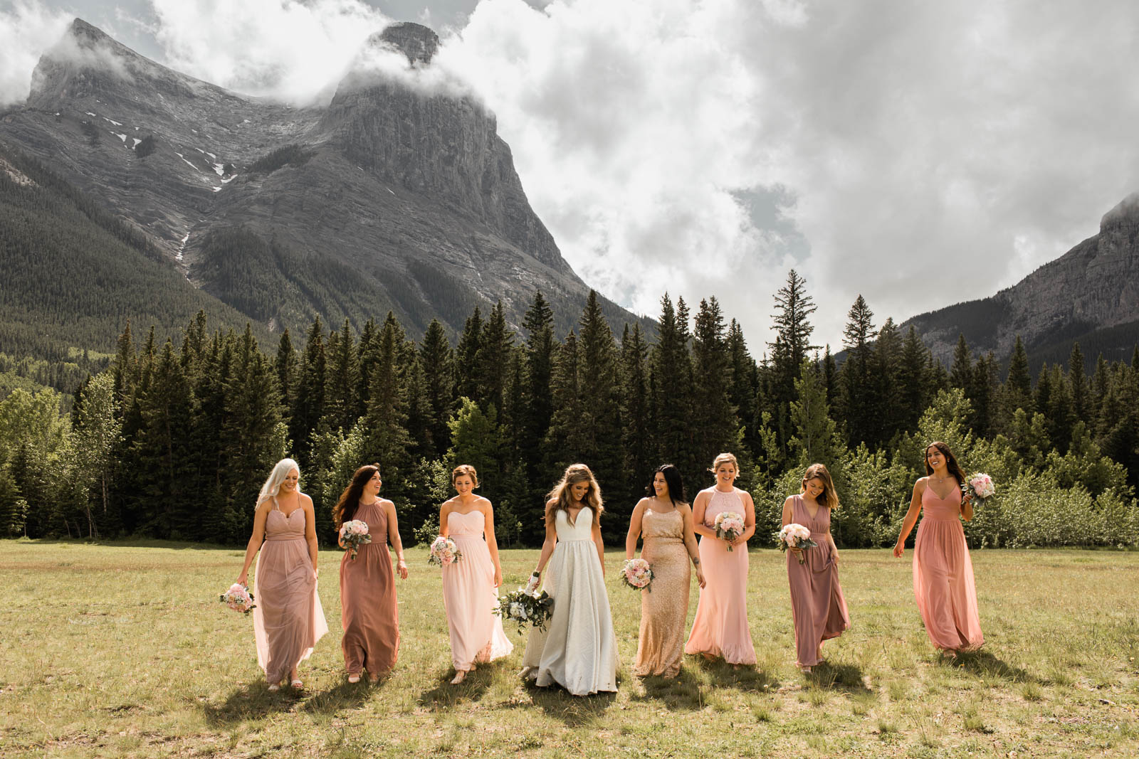 canmore cornerstone wedding- willow and wolf wedding photographer