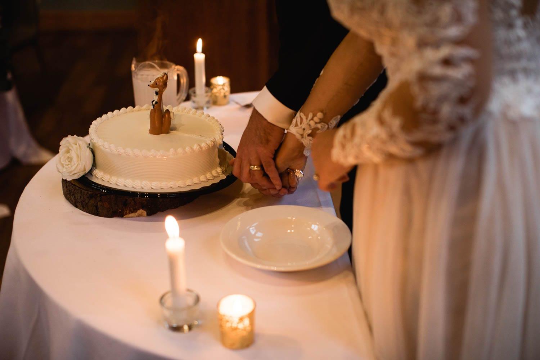 Emerald Lake Lodge Cake Cutting