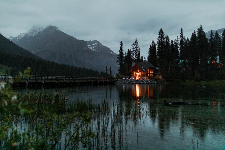 Emerald Lake Lodge View