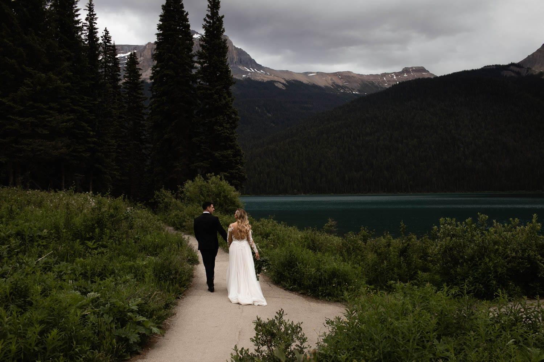 Emerald Lake Lodge Wedding