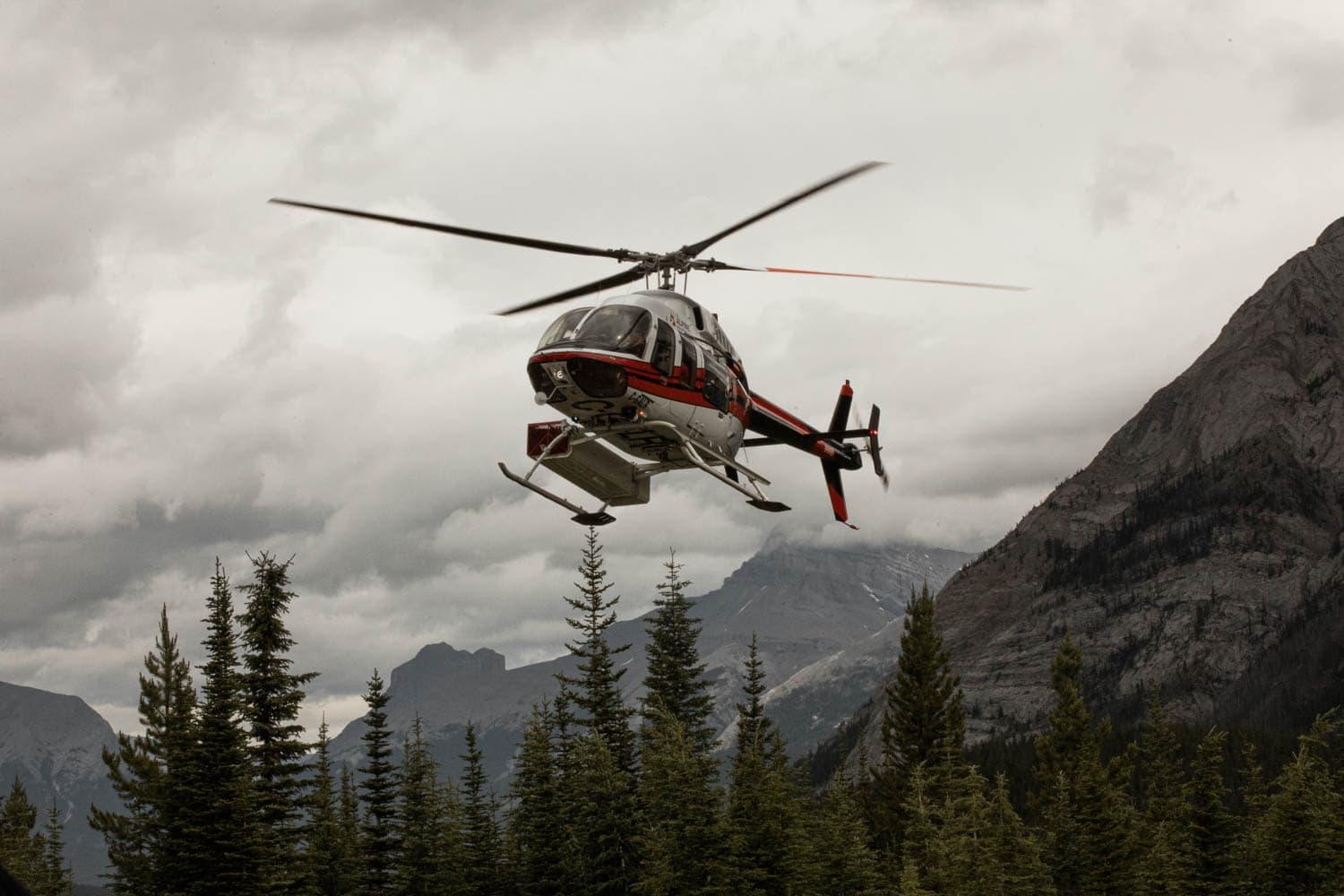 Mt Assiniboine Heli
