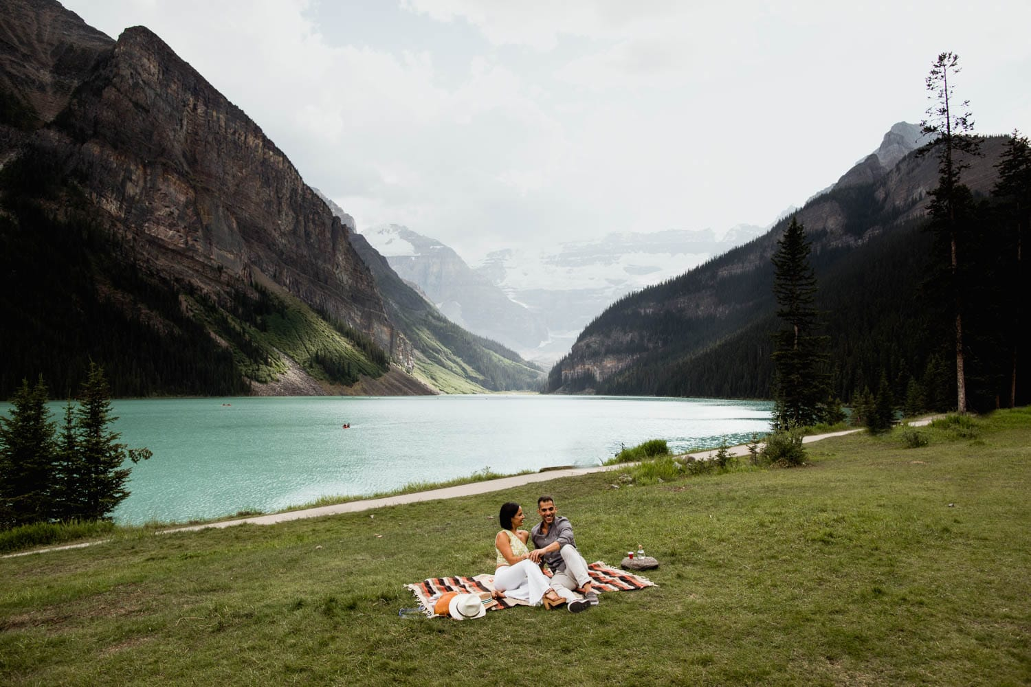 Lake Louise Picnic