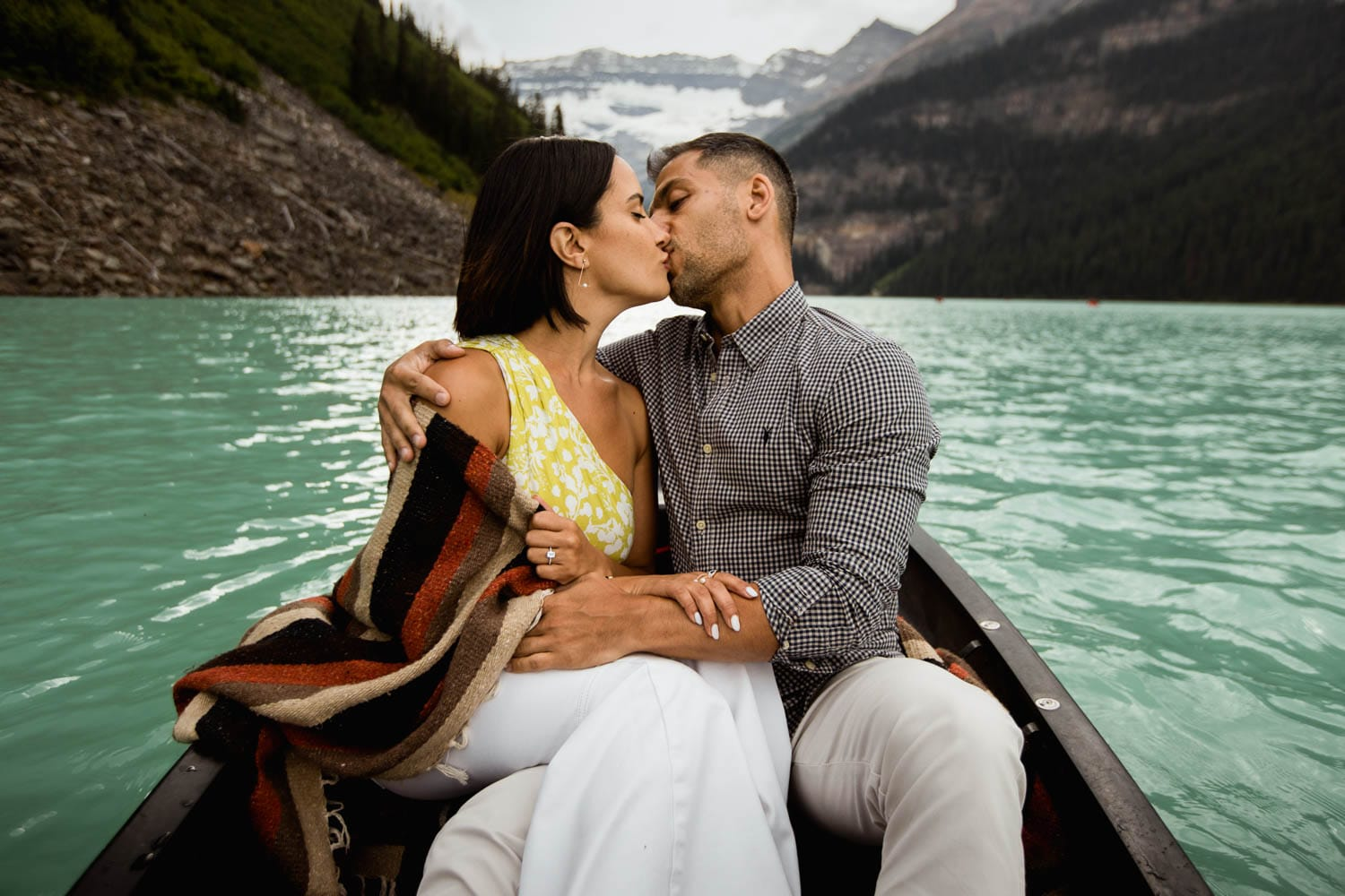 Lake Louise Engagement session
