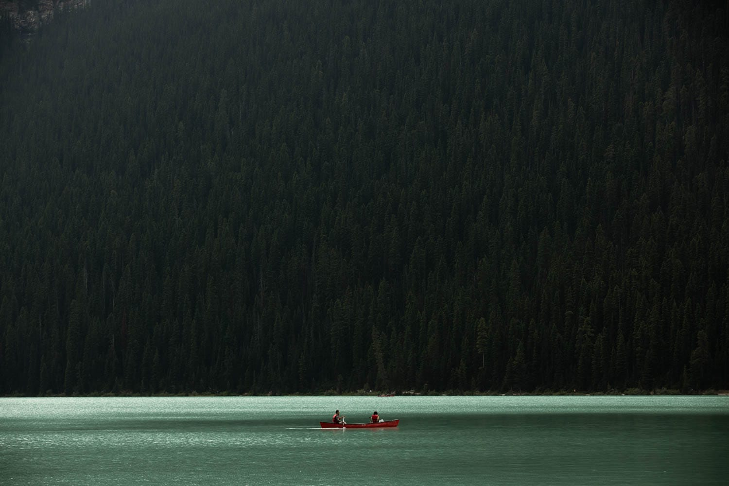 Lake Louise Canoe Rental