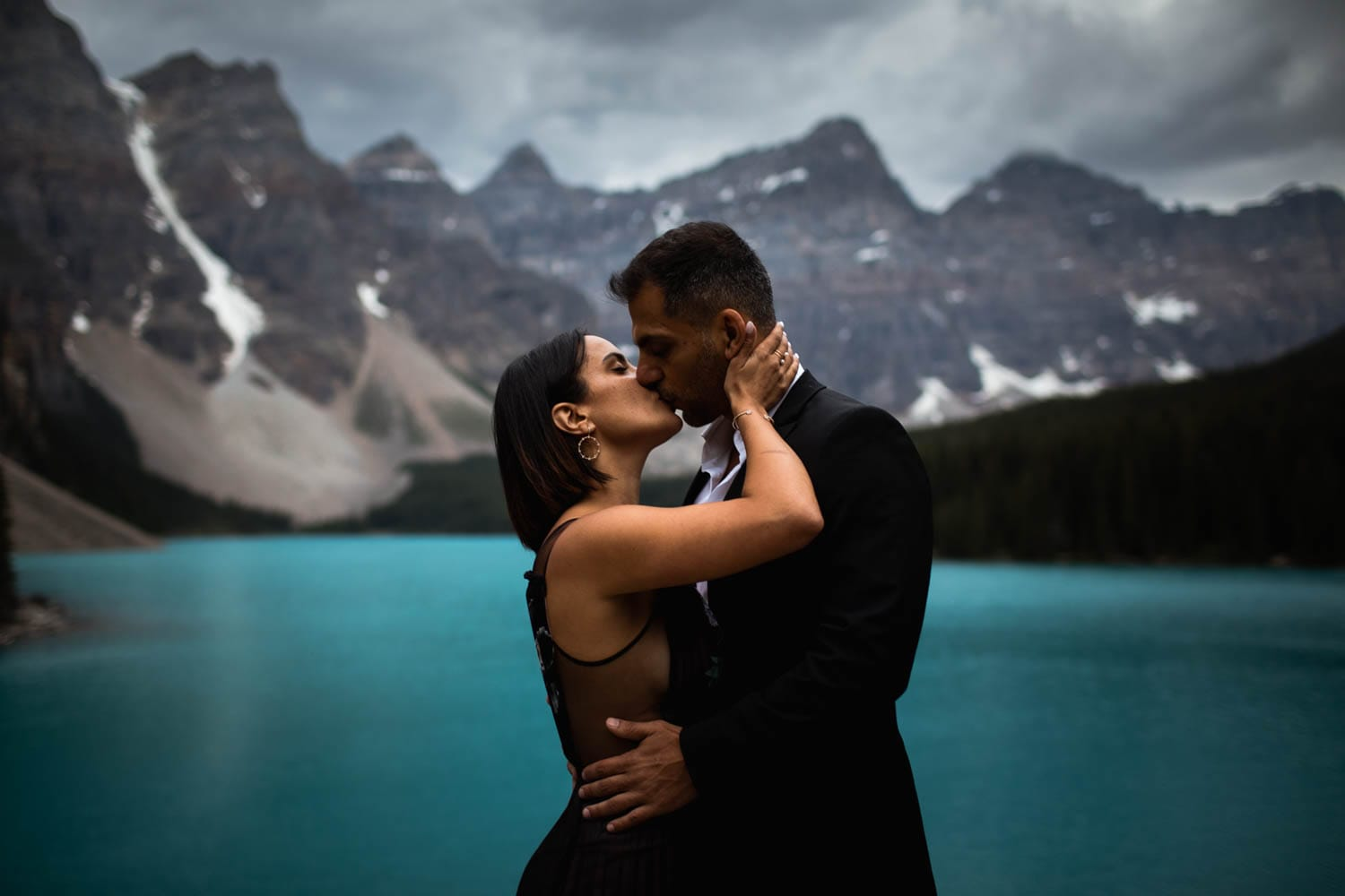Moraine Lake Engagement Photographers
