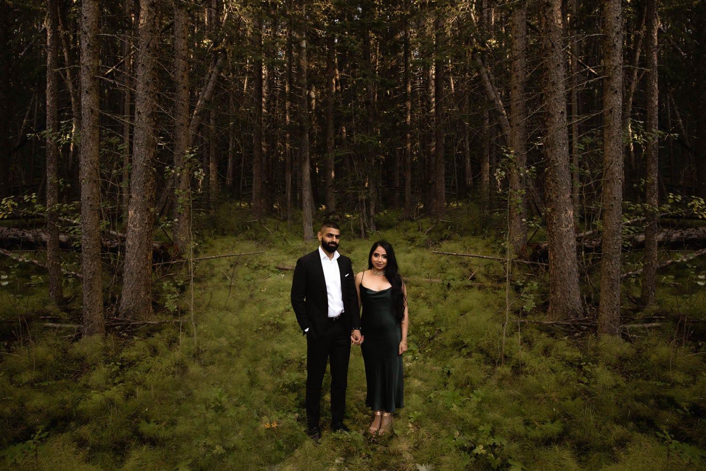 Banff Engagement Photography