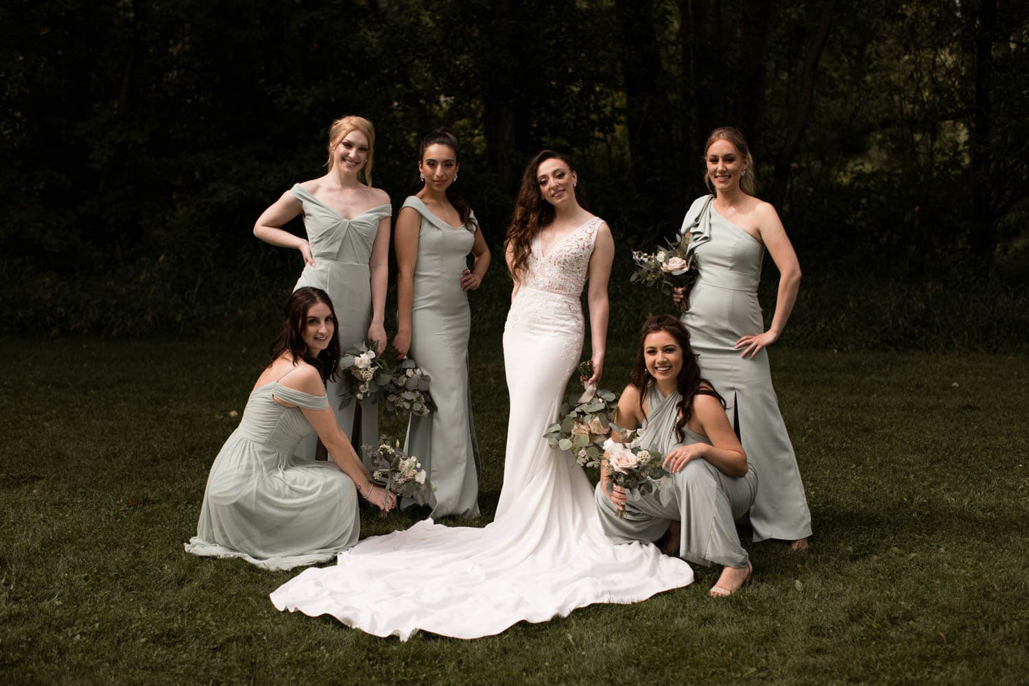 Calgary bridal party photos