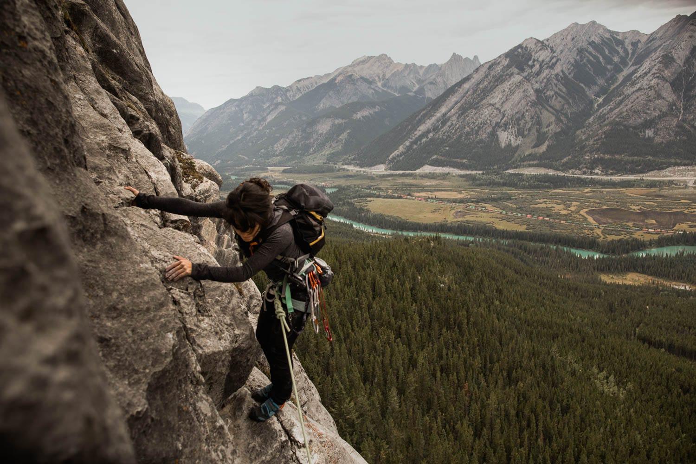 Bride Climbing
