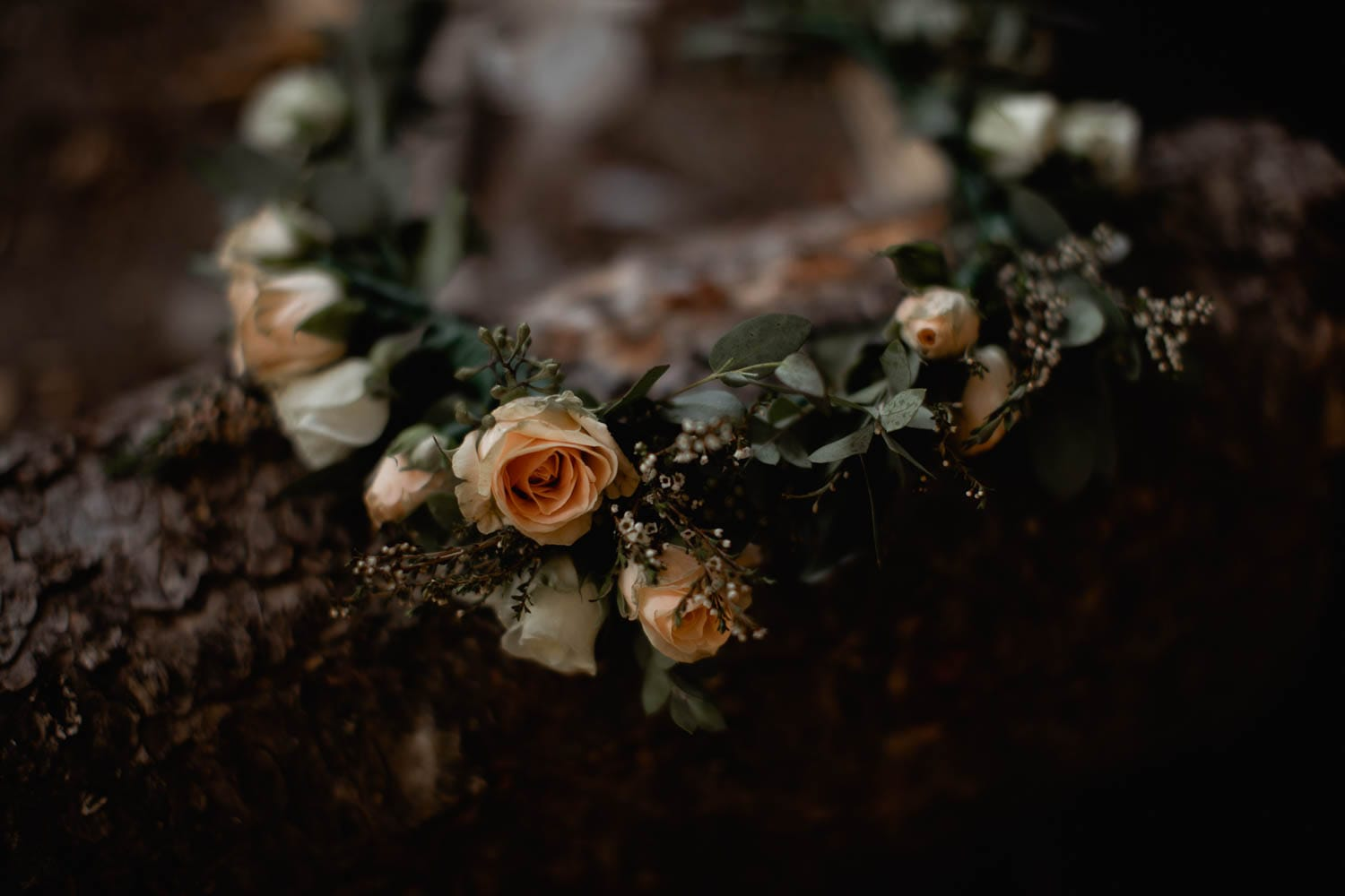 elopement flower crown