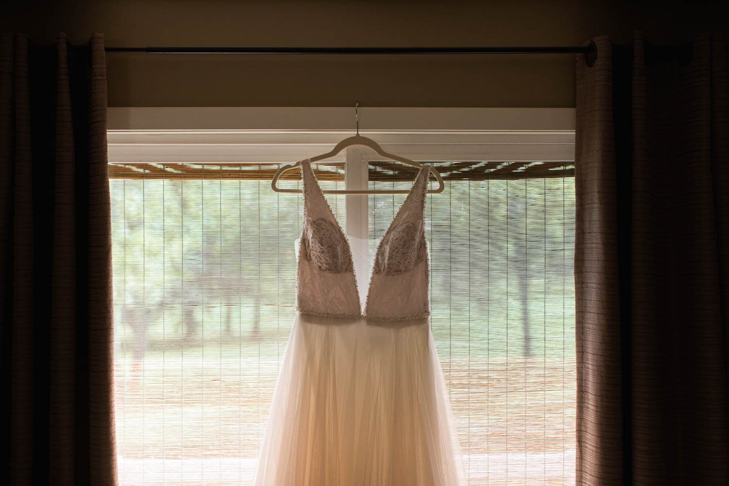 Bride Dress Detail