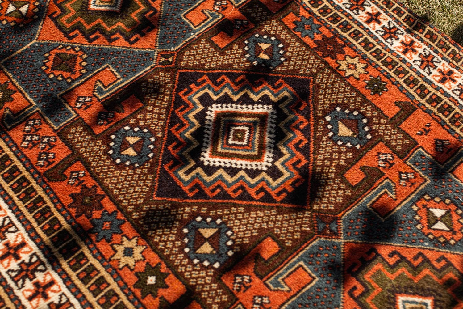 Wedding Rug Detail