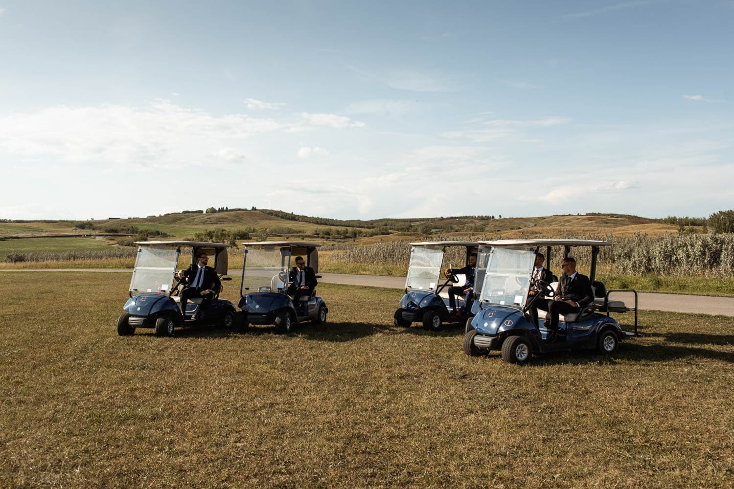Sirocco Golf Club golf carts